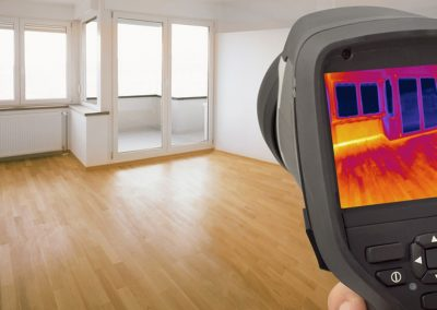 Thermal Image of Heat Leak